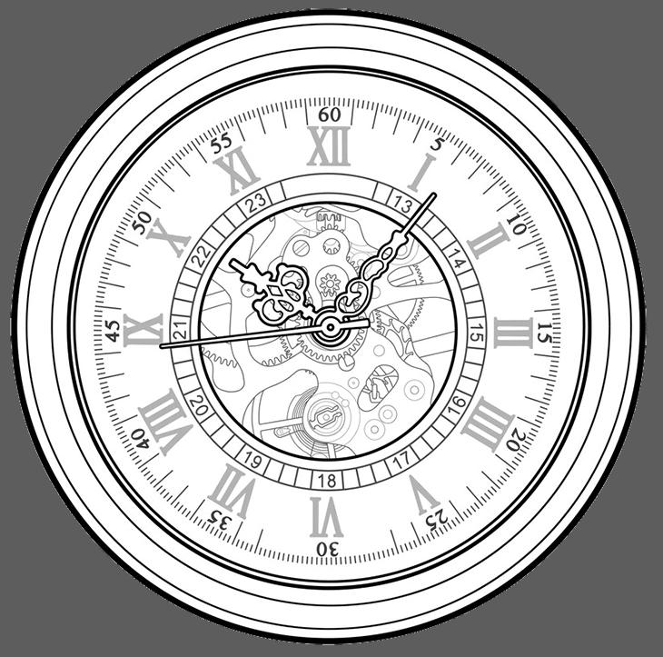 wrist watch details