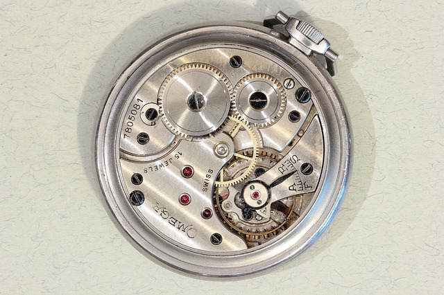 omega pocket watch with 15 jewels