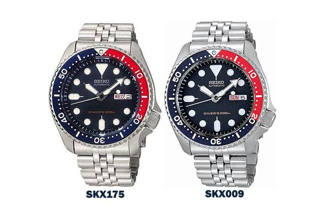 SKX175 and SKX009
