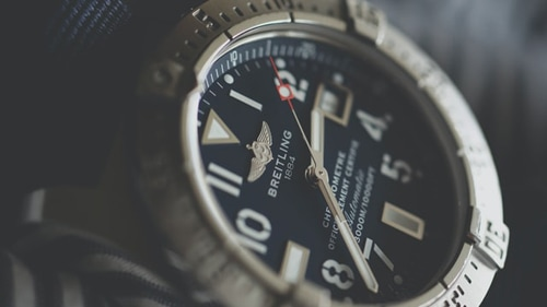 Breitling watch face