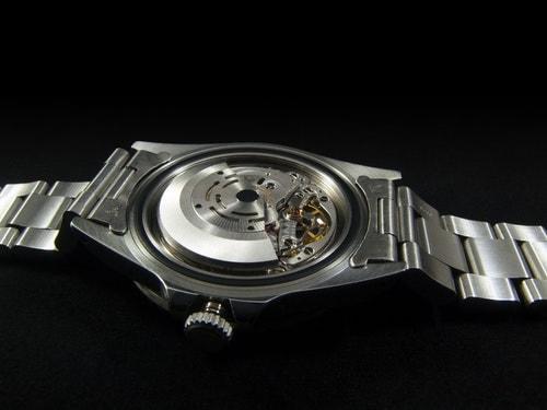 Inner part of a wristwatch